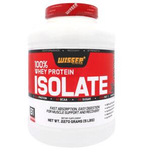 وی پروتئین ایزوله 100%